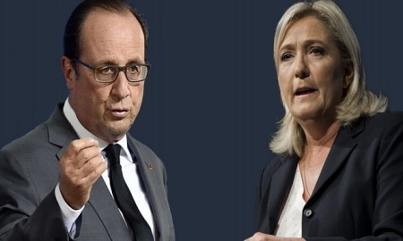 Présidentielle François Hollande Marine Le Pen
