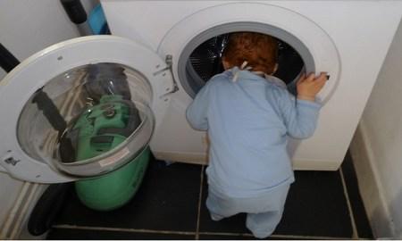 Seine-Maritime enfant machine laver