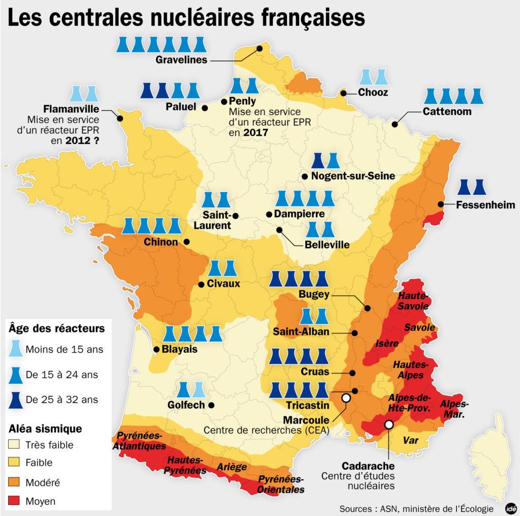 Nicolas Hulot voudrait fermer jusqu'à 17 réacteurs nucléaires