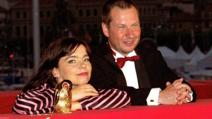 "Björk et Lars Von Trier au Festival de Cannes en 2000 pour ""Dancer in the Dark""."