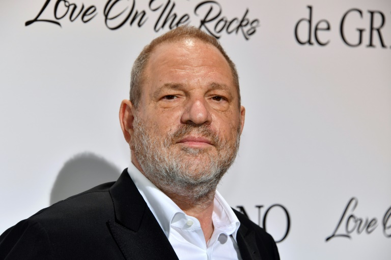 Harvey Weinstein à Antibes, en France, le 23 mai 2017