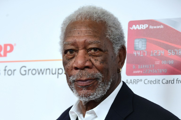 L'acteur Morgan Freeman le 6 février 2017 à Beverly Hills en Californie