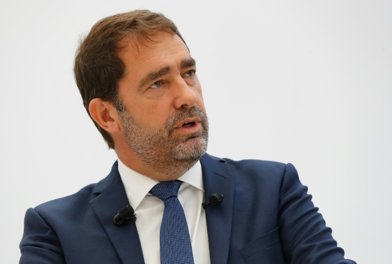 Christophe Castaner. Photo prise le 14 septembre 2018 à Paris.