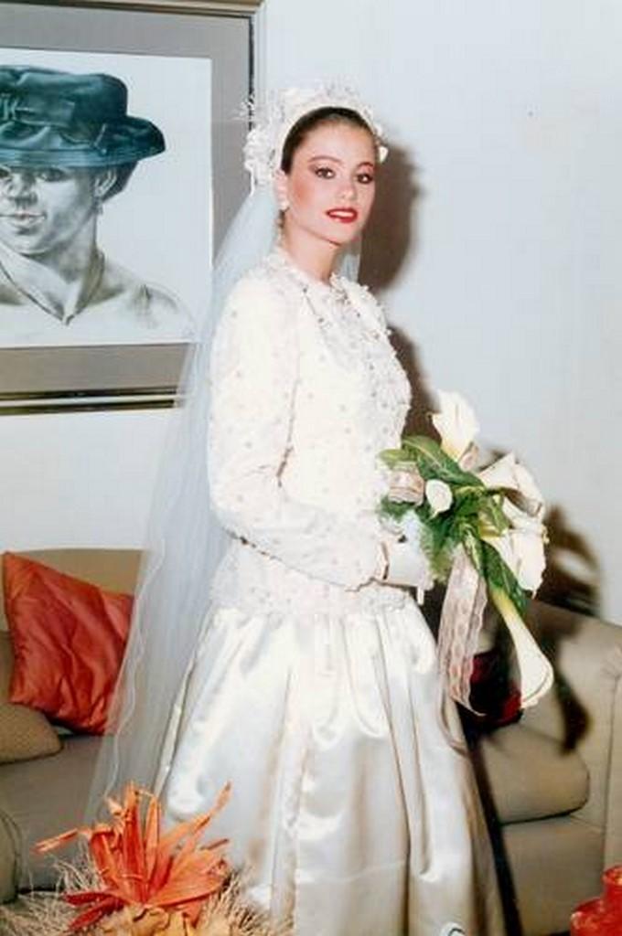 Sofía Vergara, matrimonio 1991/ Tomada de Rechingón