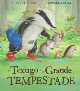 Capa de «O Texugo e a Grande Tempestade»