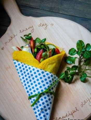 Glutenfreie Wraps mit Tomatenmayonnaise