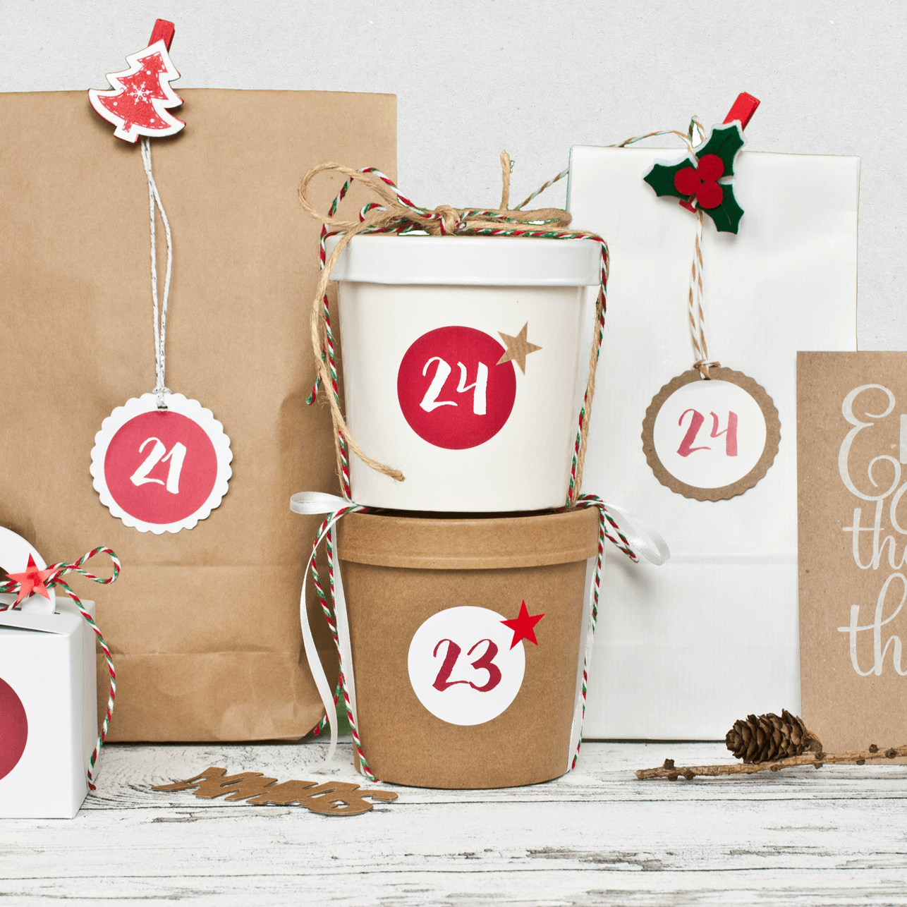 Adventskalender Sets