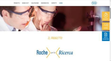 Portale Web Roche per la ricerca