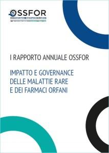 Cover Rapporto Annuale OSSFOR