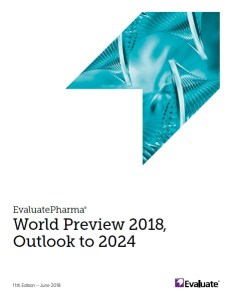 EvaluatePharma - World Preview 2018, Outlook to 2024