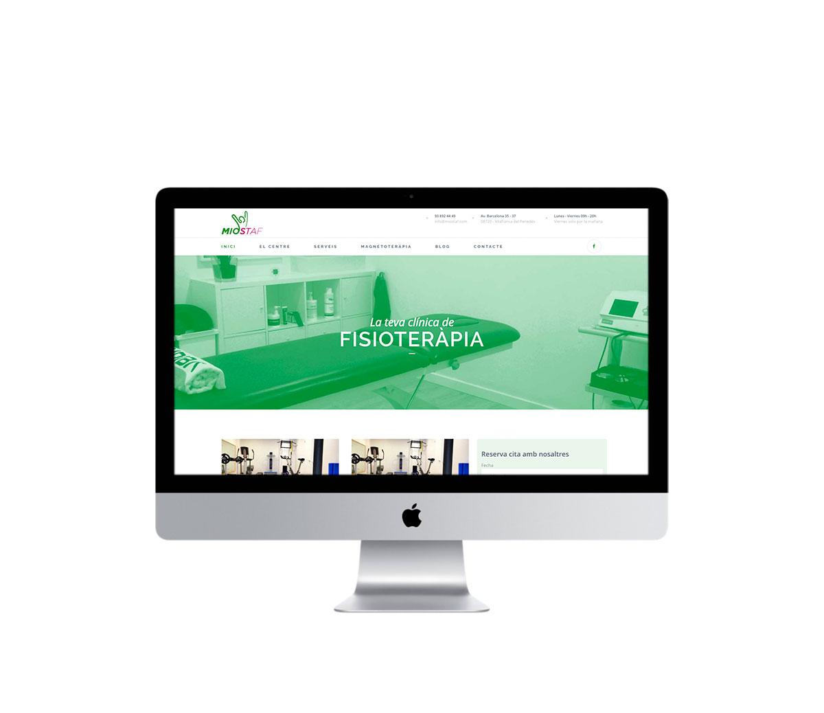 Nueva web en Miostaf