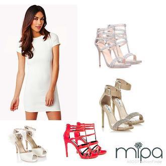 Vestidos blancos zapatos