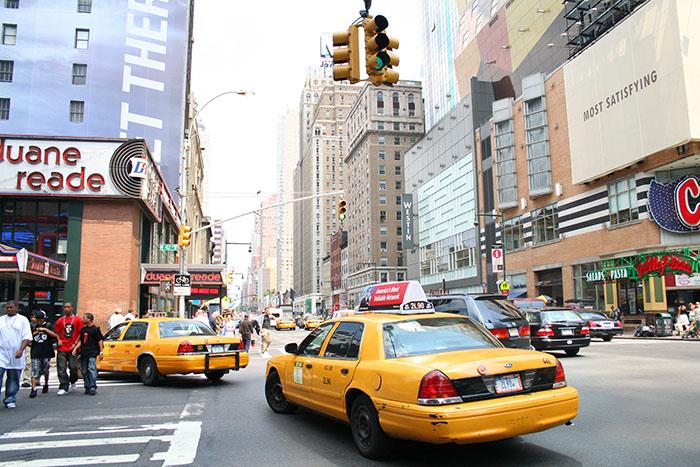 taxis-nuevayork-roadtrip-usa-mipaseoporelmundo