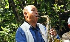 saxofón shanghai