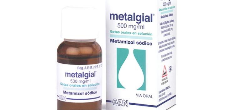 Dosis de Metalgial en Niños
