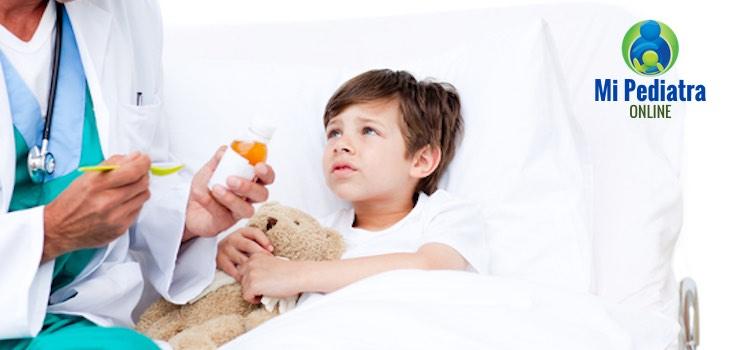 Cuándo dar Antibiótico a un bebé o a un niño