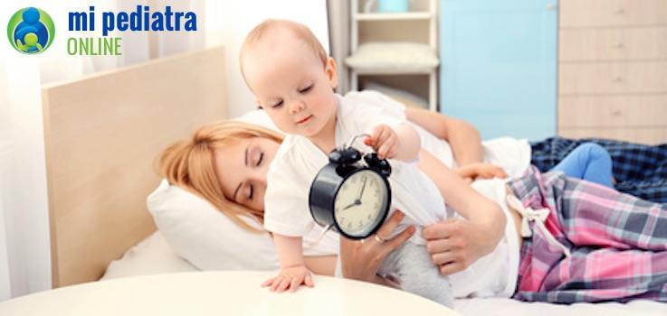 Qué hacer si mi hijo se duerme muy tarde