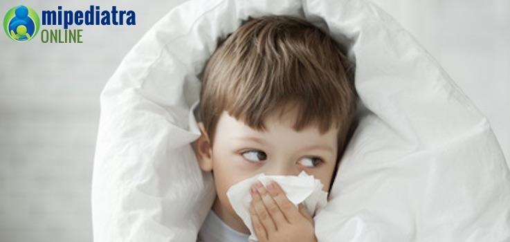 Remedios para el resfriado en niños