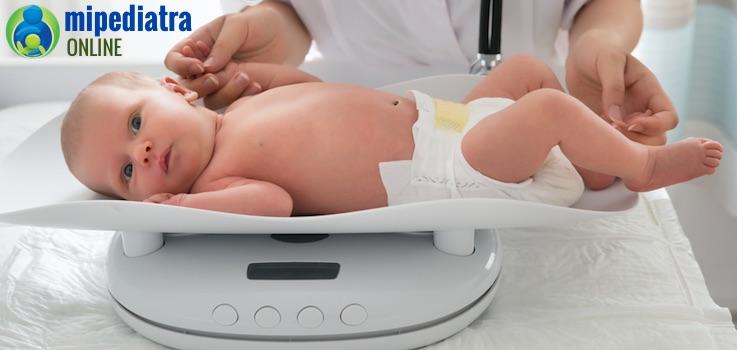 Entender los percentiles de peso en los bebés para evitar la obesidad