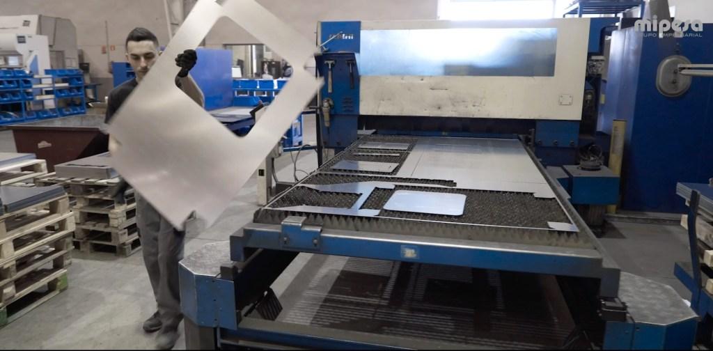 Proceso de corte por laser