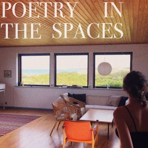 Cover art for the new LP from Sarah Rosenkrantz, 'Poetry in the Spaces'