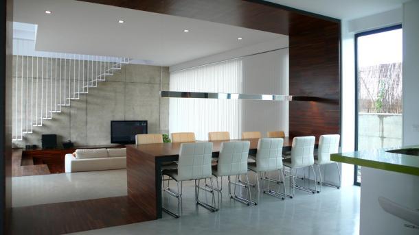 Interior de la casa Martín de ALT arquitectura
