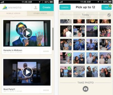 animoto editor videos moviles