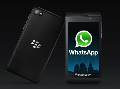 whatsapp blackberry descargar