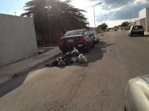Basura en calles de Ciudad Caucel