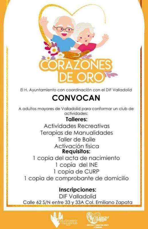 Corazones De Oro Talleres Para Adultos Mayores En Valladolid Mpv