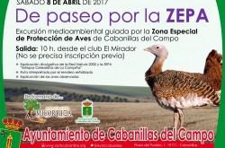 El Ayuntamiento de Cabanillas del Campo organiza un paseo medioambiental para conocer la ZEPA