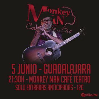 Concierto de Pancho Varona en Guadalajara