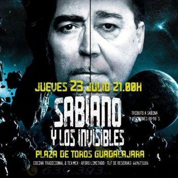 Actuacion Sabiano y Los Invisibles