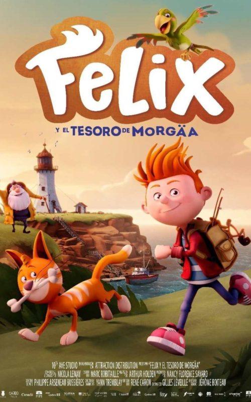 Félix y el tesoro de Morgäa