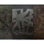 BMS 3, tryptique acier , 51-27-6 cm - Artiste Plasticienne Noiseau & Val de Marne 94