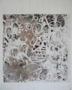 P 16 monotype et lavis, 41-52 cm 2016 - Artiste Plasticienne Noiseau & Val de Marne 94