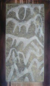 R 2 eau forte monotype, 66-112 cm , 2016 - Artiste Plasticienne Noiseau & Val de Marne 94