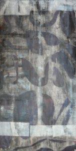 RB 2 eau forte monotype 50-100 cm 2016 - Artiste Plasticienne Noiseau & Val de Marne 94