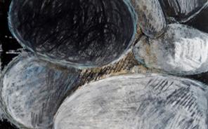 litographies les galets famille 2 - Mir Nezan Artiste Plasticien Val-de-Marne 94