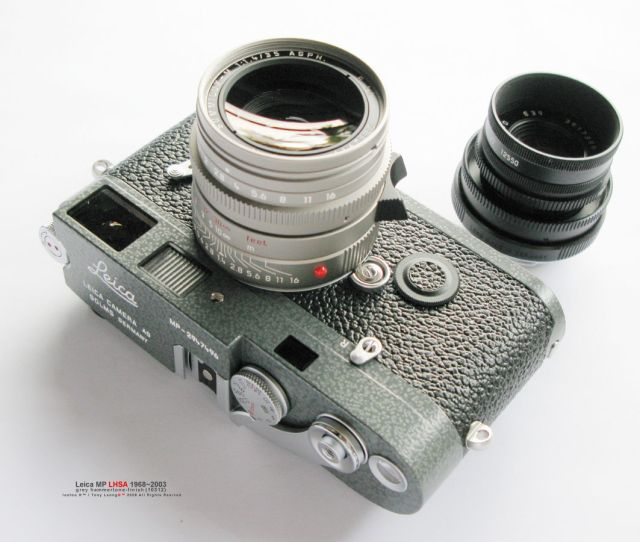 Photo Profile On Leica Mp Lhsa 19682003 Special Edition Rangefinder Camera Model W