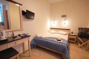 single or double room with double bed mirabello hotel heraklion crete