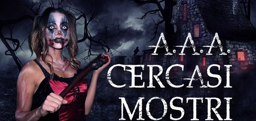A.A.A. Cercasi Mostri per l'halloween di Mirabilandia
