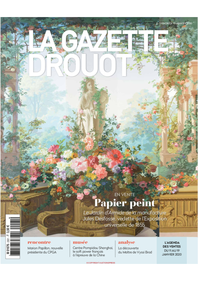 Gazette_Drouot_Couverture