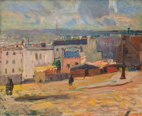 RAOUL-DUFY-Vue-de-Paris-depuis-Montmartre