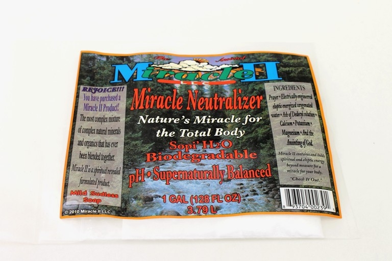 Miracle II Neutralizer Powder