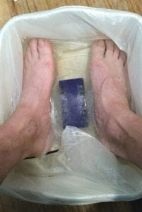 Foot Bath at the Beginning