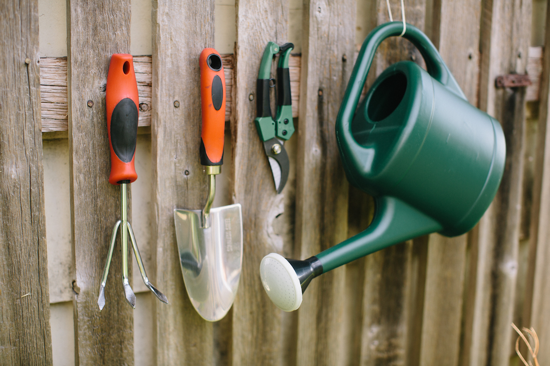 stock your shed with a selection of garden supplies and tools that help take the work out of gardening to learn which tools are most important to have