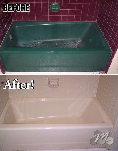 Bath Tub Refinishing Miracle Method
