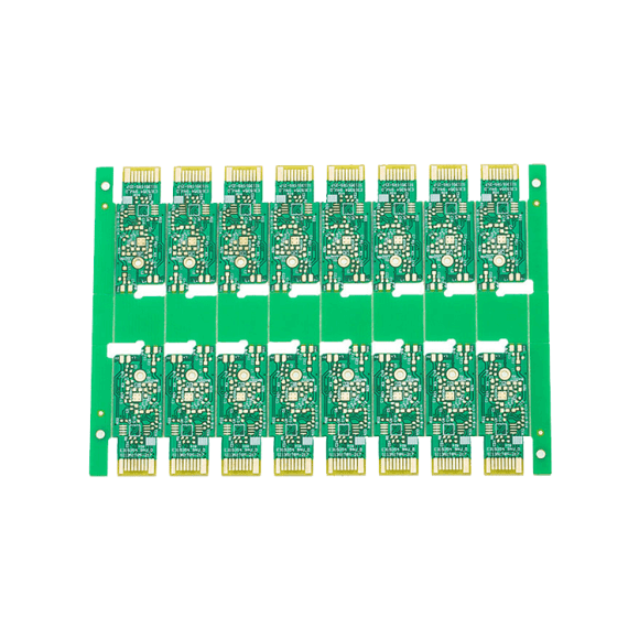 China Professional Custom 2 Layer Immersion Golden Fingers PCB-04
