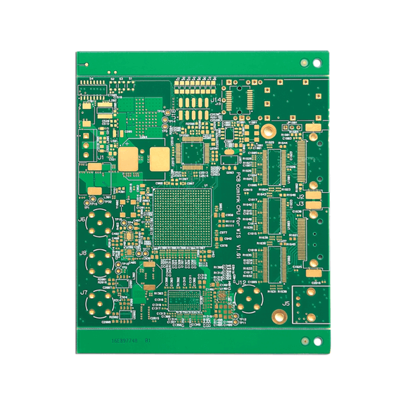 Custom Printed Circuit Board 1.6mm Single Layer PCB